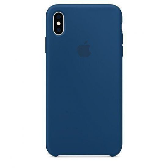 Чехол Apple Silicone Case iPhone XR - Blue Horizon