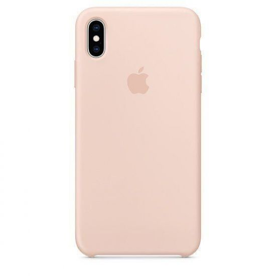 Чехол Apple Silicone Case iPhone XR - Pink Sand
