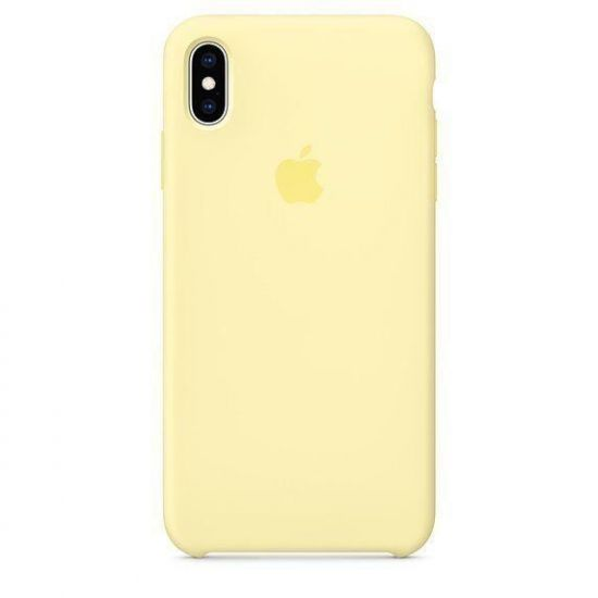 Чехол Apple Silicone Case iPhone XR - Mellow Yellow